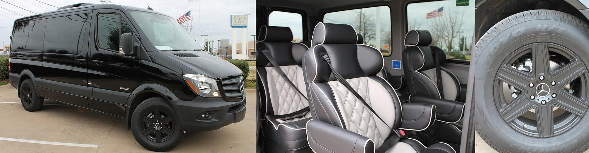 Custom Sprinter Design - Custom Sprinter Interiors Dallas