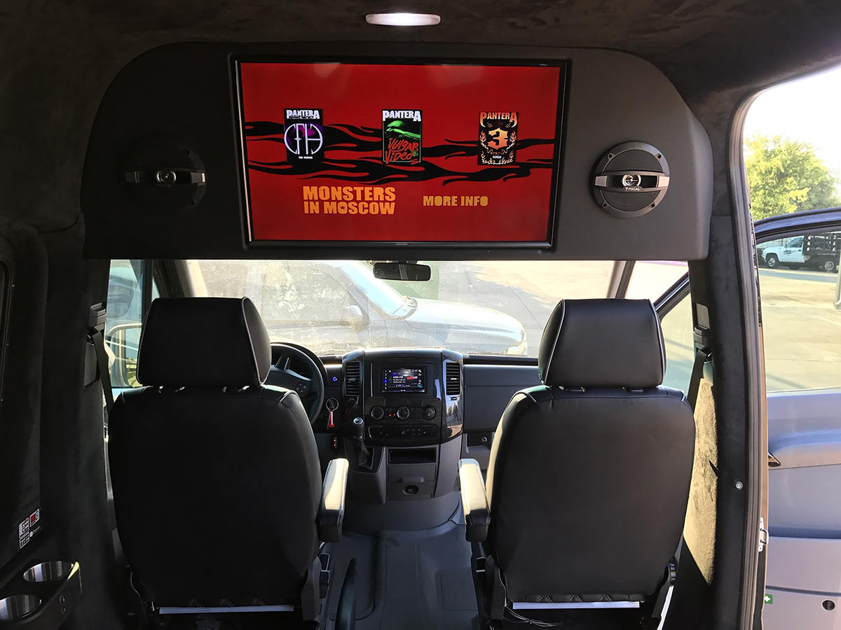 Custom sprinter design custom sprinter interiors dallas for Interior design 75063